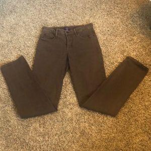 NYDJ  Slim pants size 4 brown